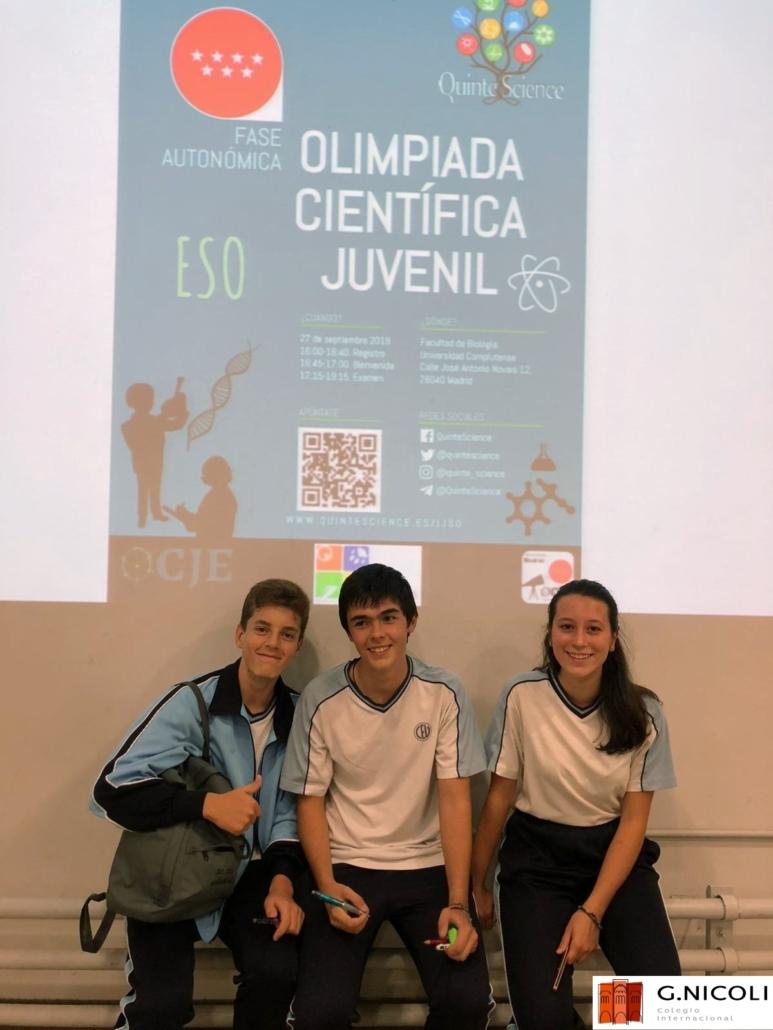 Olimpiada Científica Juvenil